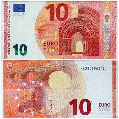 Евро Банкноты Нового Образца - фото 3