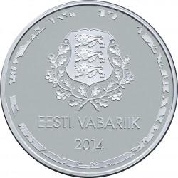Eesti 2014. 10 euro. 2014 Winter Olympics