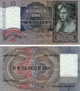 10 Gulden 1940-1942