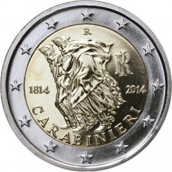 2 euro Italy 2014 Carabinieri