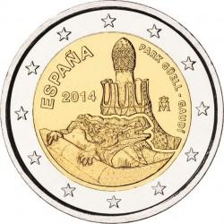 Spain 2014. 2 euro. Parque Güell