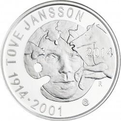 Finland 2014. 10 euro. Tove Jansson