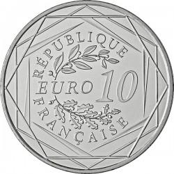 France 2014. 10 euro. Coq
