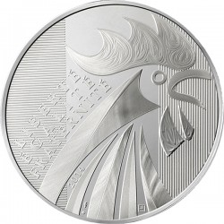 France 2014. 100 euro. Coq