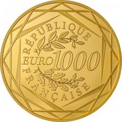 France 2014. 1000 euro. Coq