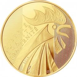 France 2014. 250 euro. Coq