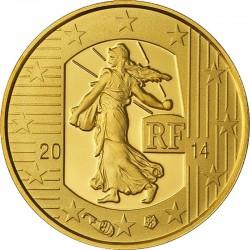France 2014. 5 euro. Semeuse