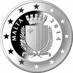 Malta 2014. 10 Euro. Charles Camilleri