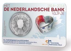 Nid 2014 5 euro bank coincard