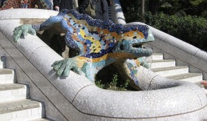 Park Guell Salamander
