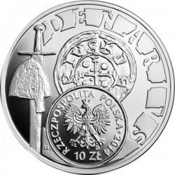 Polska 2014. 10 zl. denar Bolesawa Krzywoustego