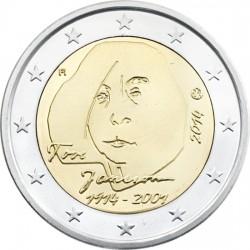 2 euro. Finland 2014. Tove Jansson