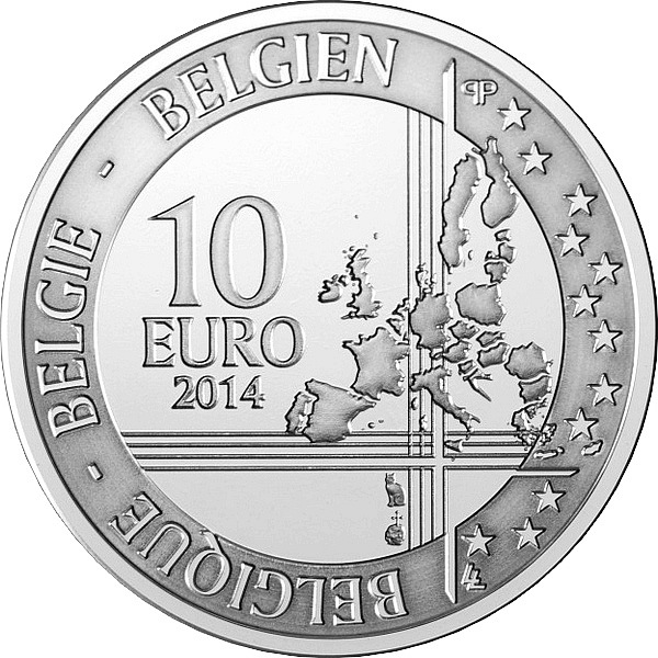 Сколько стоит монета 10 евро бельгия 2014год адольф сакс сколько стоит рубль 1998 года цена