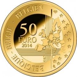 Belgium 2014. 50 euro. Adolphe Sax