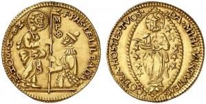 Malta Zecchino 1530-1534 Philippe de Villiers de l'Isle-Adam