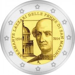 2 euro San Marino 2014 Bramante