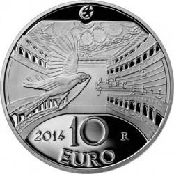 Italy 2014. 10 euro. Gioachino Rossini