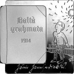 Latvia 2014. 5 euro. Balta gramata