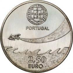 Portugal 2014. 2.5 euro. Aviation (Cu-Ni)