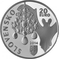 Slovakia 2014. 20 euro. Dubník opal mines