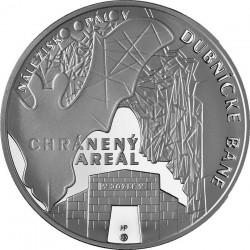 Slovakia 2014. 20 euro. Dubni'k opal mines