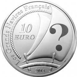 France 2014. 10 euro. Pourquoi Pas