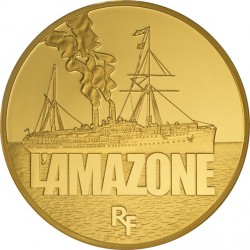 France 2013. 50 euro. L'Amazone