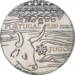 Portugal 2014. 2.5 euro. Jugos (Cu-Ni)