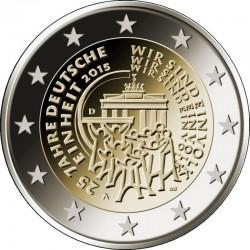 2 euro 2015 Germany Einheit