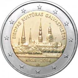 2 euro Latvia 2014 Riga