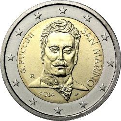 2 euro San Marino 2014 Puccini