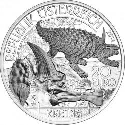 Austria 2014. 20 euro. Cretaceous