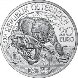 Austria 2014. 20 euro. Tertiary