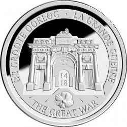 Belgium 2014. 10 Euro. WWI