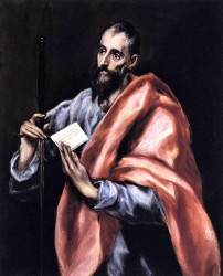 El Greco - Apostle St Paul
