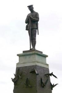Fermanagh War Memorial in Enniskillen