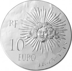 France 2014. 10 euro. Louis XIV