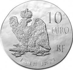 France 2014. 10 euro. Napoleon III