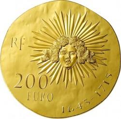 France 2014. 200 euro. Louis XIV