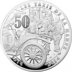 France 2014. 50 euro. Grande Guerre (Ag 950)