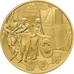 France 2014. 50 euro. Grande Guerre (Au 920)