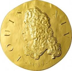 France 2014. 50 euro. Louis XIV