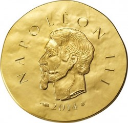 France 2014. 50 euro. Napoleon III