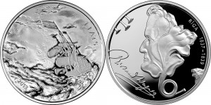 Latvia 2013. 1 lats. Richard Wagner