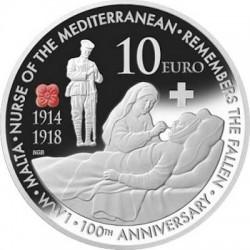 Malta 2014. 10 Euro. WWI