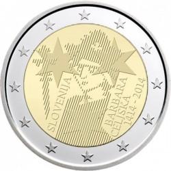 2 euro Slovenia 2014 Barbara