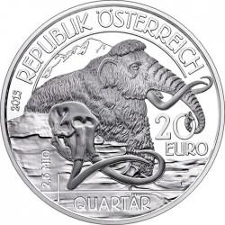Austria 2015. 20 euro. Quaternary Period