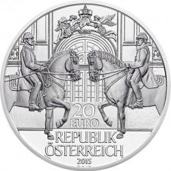 Austria 2015 20 euro Spanische hofreitschule