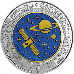 Austria 2015 25 euro Cosmology obv