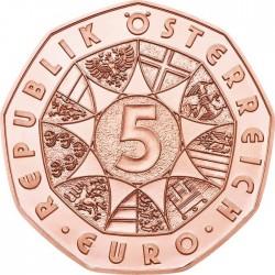 Austria 2015. 5 euro. Bundesheer (Cu)